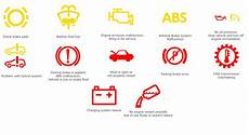 Volkswagen Temperature Warning Light List Of Volkswagen Dashboard Warning Lights And Symbols