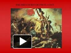 French Revolution Powerpoint Ppt The French Revolution Cont Powerpoint Presentation