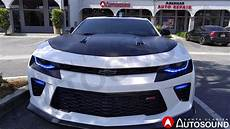 2014 Camaro Ss Led Lights Santa Clarita Auto Sound Color Changing Led Lights On
