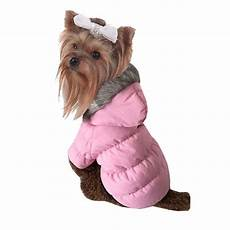 coats for small dogs small puppy pet hooded coat jacket winter warm blue