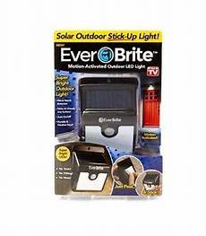 Ever Brite Light Led Motion Activated Outdoor Solar Power Ever Brite Outdoor Motion Activated Led Light