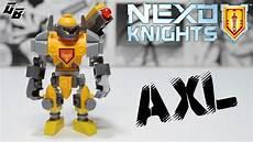 Lego Nexo Knights Ausmalbilder Axl Lego Nexo Knights Axl Mighty Form Custom Figure