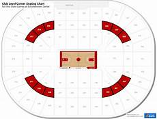 Ohio State Basketball Arena Seating Chart Interactive Seating Chart Schottenstein Center