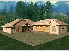 Concrete Block/ICF   Vacation Home with 3 Bdrms, 3202 Sq Ft   House Plan #132 1246