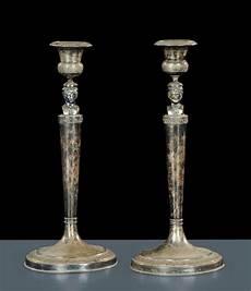 candelieri argento candelieri in argento con giano bifronte roma xix secolo