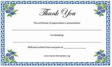 Thank You Page Template Free Download Thank You Certificate Template Free Template Downloads