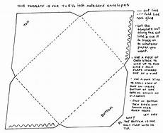 how to make a card envelope template yucca flats n m your own note card sized envelopes