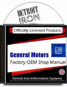 Cadillac Factory Shop Manuals 1942 1972 On Cd Gm Licensed