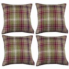 mcalister textiles heritage cushion cover set of 4