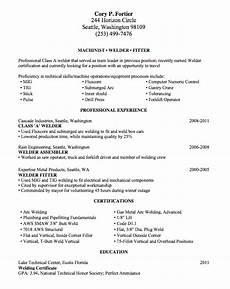 Resume For Welding Welding Resume Sample Lake Tech S Career Center