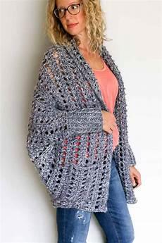 chunky crochet sweater free pattern tutorial 15