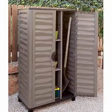 outdoor storage cabinet garden vertical partition plastic