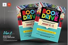 Flyers Book Book Drive Flyer Templates By Kinzi21 Graphicriver