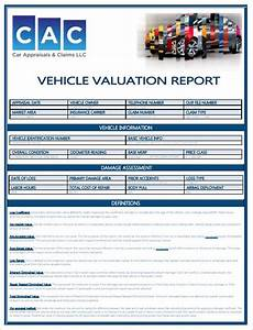 As Is Car Form Car Appraisals Amp Claims Llc The Southeast S Premier Car