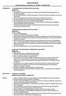 National Operations Manager Resume Director Of Operations Resume Objectives Mt Home Arts