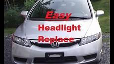 Honda Civic Light Bulb How To Install A Headlight Bulb On 2010 Honda Civic Lx