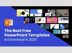 The Best Free PowerPoint Templates to Download in 2020