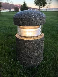 Concrete Bollard Lights Concrete Bollard Pathway Lighting Precast Concrete