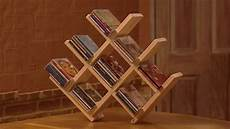 Cd Dvd Rack Designs How To Make A Wooden Cd Rack Youtube