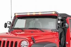Jeep Overhead Light Bar Rugged Ridge 11232 52 Elite Fast Track Windshield Light