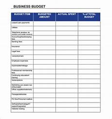 Budget Business Finance Business