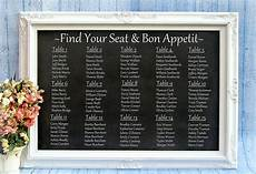 Wedding Reception Table Seating Chart Reception Seating Charts 101