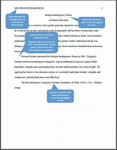 Apa Style First Page Apa What Your Paper Should Look Like Nursing Tr