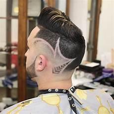 Pics Of Designs In Hair New Men S Hair Trends Neckline Hair Design