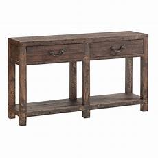 modus furniture craster reclaimed wood console table in