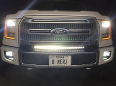 2015 F150 Light Bar Install 30 Quot Curved Led Light Bar Installed Ford F150 Forum