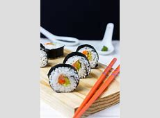Homemade Sushi Recipe   Happy Foods Tube