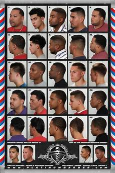 Barber Shop Haircut Styles Chart 24 X 36 Barber Shop Salon Modern Hair Cut Styling For Men