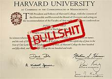 Fake Phd A Fake Harvard Diploma Costs 650 Boing Boing