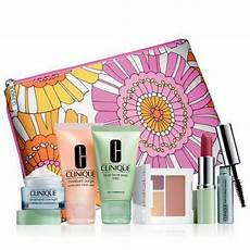 Design Essentials Daily Moisturizer Clinique New Spring 2013 Cool Colors Gift Set With 7 Daily