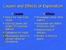 Reasons For European Exploration Early European Exploration