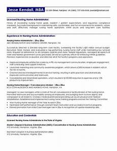 Nursing Home Administrator Cover Letter Resume Best Nursing Quotes Quotesgram