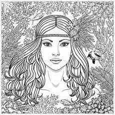 Ausmalbilder Erwachsene Meerjungfrau Coloring Pages For Adults Page 3