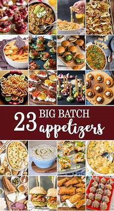 appetizers for a crowd 10 big batch appetizers the cookie rookie 174