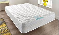 memory foam quilted sprung mattress single 3ft