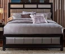 barzini black platform bed 200891q coaster furniture