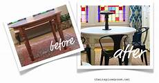 furniture makeover dining table before after the