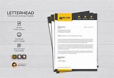 Creative Letterhead Samples Letterhead Template Stationery Templates Creative Market