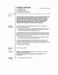 Free Student Resume Templates Teacher Resume Templates Easyjob