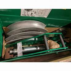 Greenlee Hydraulic Bender Chart Greenlee 884 1 1 4 Quot 4 Quot One Shot 90 176 S Rigid Conduit