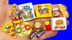 25 diy miniature food hacks and crafts