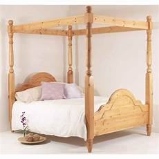 6ft classic four poster bed king high foot end
