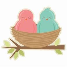 birds in nest svg cutting files for scrapbooking birds svg