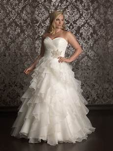 20 affordable plus size wedding dresses for women 2019