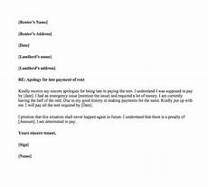 Late Payment Letter Sample Late Rent Payment Letter To Landlord Top Form Templates