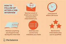 How Long After An Interview How To Follow Up After A Job Interview